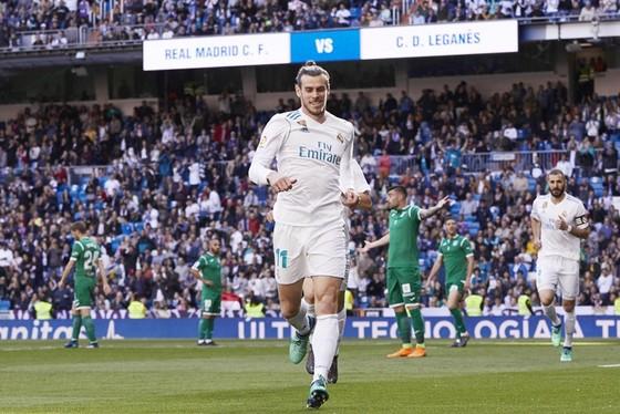 Bale khó đá chính trước Bayern. Ảnh: Getty Images