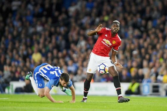 Paul Pogba đang chơi tốt hơn trong các trận gần đây. Ảnh: Getty Images