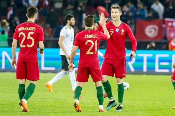 Ronaldo và các đồng đội bị đánh giá thấp ở World Cup 2018. Ảnh: Getty Images