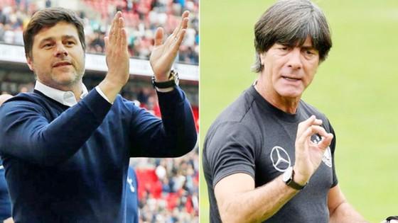 Pochettino (trái) và Loew là hai ứng cử viên sáng giá nhất. Ảnh Marca.