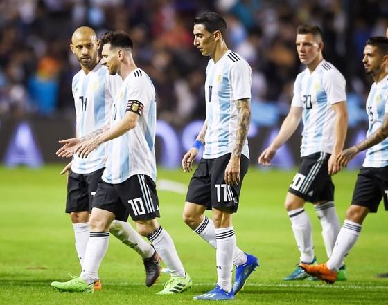Messi và đồng đội không thể có trận giao hữu cuối cùng. Ảnh: Getty Images
