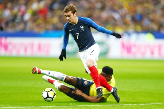 Phát huy điểm mạnh nhất của Antoine Griezmann, tuyển Pháp có nhiều cơ hội thành công. Getty Images