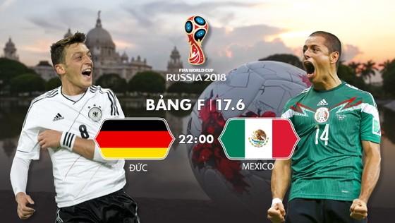Mexico (phải) không chùn bước trước tuyển Đức bất chấp thất bại nặng nề trên đất Nga cách đây 1 năm. Infographic: HỮU VI