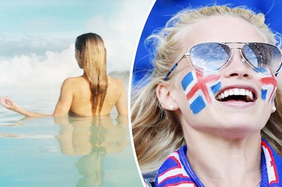 Các cầu thủ Iceland được cho là mất quá nhiều sức vì sex. Ảnh Getty Images