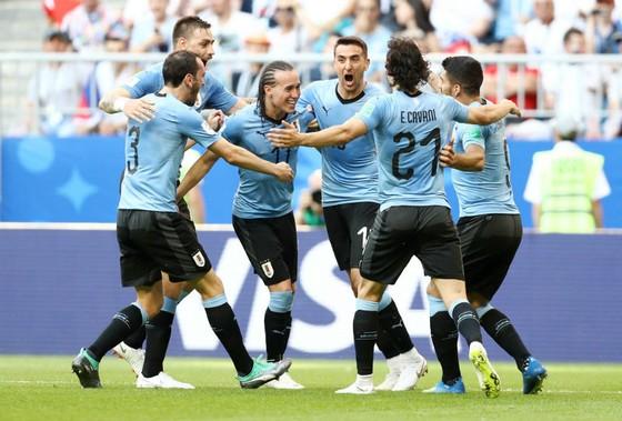 Uruguay bất ngờ có được chiến thắng quá dễ dàng. Ảnh: Getty Images