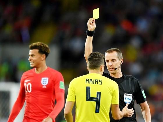 Trọng tài Geiger được cho thiên vị tuyển Anh. Ảnh: Getty Images