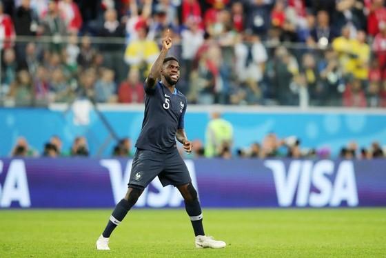 Umtiti góp công lớn đưa Pháp vào chung kết. Ảnh: Getty Images