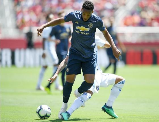 Anthony Martial không gây ấn tượng nào sau 2 trận giao hữu. Ảnh: Getty Images