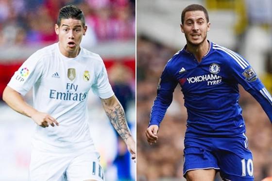 Thương vụ James và Hazard xem như đổ vỡ với Real.
