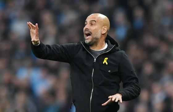 HLV Pep Guardiola khẳng định khát khao thắng Premier League một lần nữa. Ảnh: Getty Images