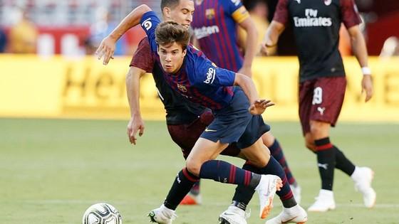 Puig đã có màn trình diễn tốt vừa qua trong màu áo Barca. Ảnh AS.
