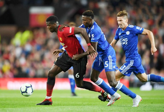 Paul Pogba đã có ngày khai màn thật sự ấn tượng cùng Man.United. Ảnh: Getty Images