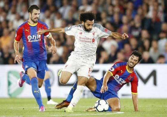 Mohamed Salah và các đồng đội đã trải qua trận cầu khó khăn tại Cryatal Palace. Ảnh: Getty Images