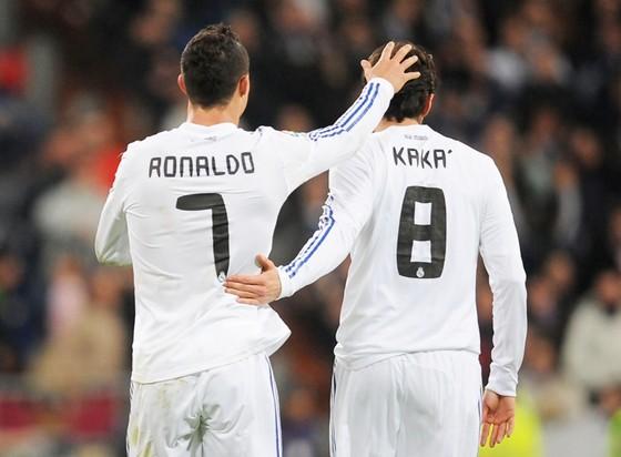 Kaka cho rằng Ronaldo rất thân thiện với bạn bè thời còn ở Real. Ảnh: Getty Images