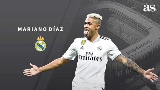 Mariano về lại Real. Ảnh AS