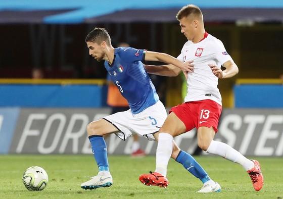 Jorginho đã có trận đấu tốt. Ảnh Getty Images.