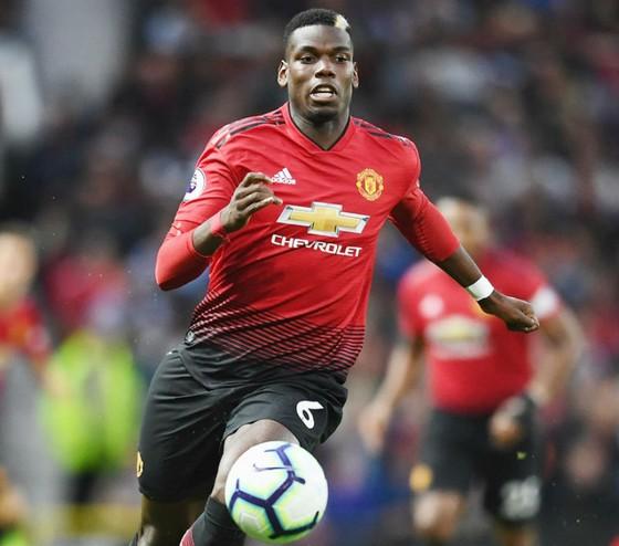 Paul Pogba vẫn đang thể hiện tốt về thái độ tại Man.United. Ảnh: Getty Images