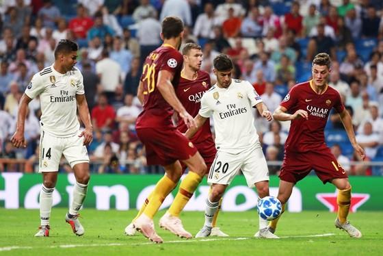 Real dễ dàng giành chiến thắng trước Roma. Ảnh Getty Images.