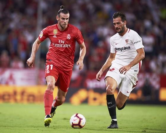 Real đã phải nhận thất bại trước Sevilla. Ảnh Getty Images.