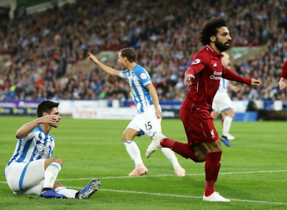 Mohamed Salah kịp thời tỏa sáng để giúp Liverpool vượt qua gian khó. Ảnh: Getty Images