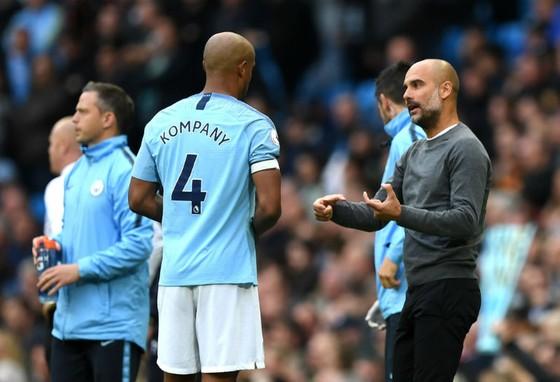 HLV Pep Guardiola dự báo về một cuộc đua vô địch căng thẳng. Ảnh: Getty Images