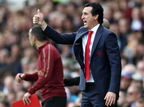 HLV Unai Emery đặt mục tiêu thành công cùng Arsenal. Ảnh: Getty Images