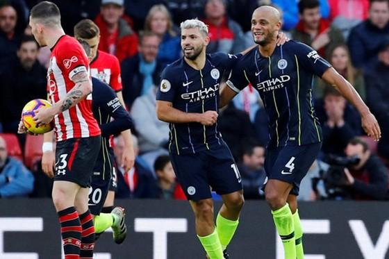 Chiến thắng tại Southampton là nguồn động lực lớn đối với Man.City. Ảnh: Getty Images