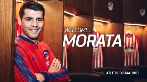 Alvaro Morata đã trở về CLB thời thơ ấu. Ảnh: The Sun