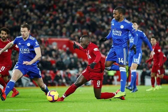 Liverpool lại trượt chân trong nỗ lực bứt phá. Ảnh: Getty Images