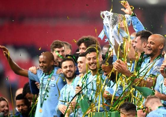 Man.City đã bảo vệ thành công danh hiệu Cúp Liên đoàn. Ảnh: Getty Images