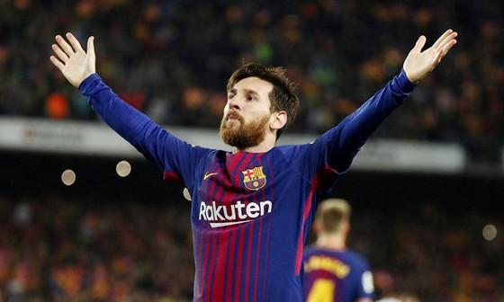 Lionel Messi tiếp tục bừng sáng ở giai đoạn quyết định. Ảnh: Getty Images