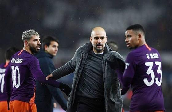 Pep Guardiola đầy tự tin vào năng lực chiến thắng của Man.City. Ảnh: Getty Images