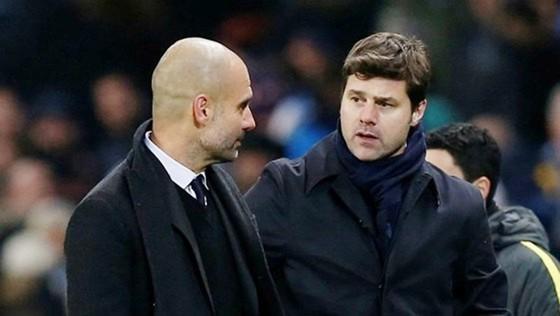 HLV Mauricio Pochettino đánh giá rất cao chất lượng của Man.City dưới quyền Pep Guardiola. Ảnh: Getty Images