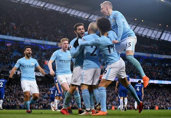 Man.City đang khẳng định chất lượng của ứng viên vô địch hàng đầu. Ảnh: Getty Images