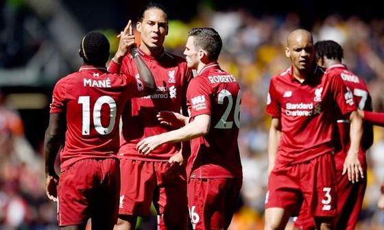 Cầu thủ Liverpool thất vọng sau nỗ lực vô địch bất thành. Ảnh: Getty Images