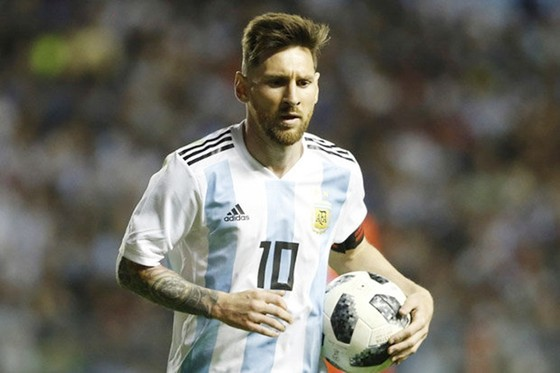 Lionel Messi vẫn duy trì khát khao vinh quang cùng tuyển Argentina. Ảnh: Getty Images