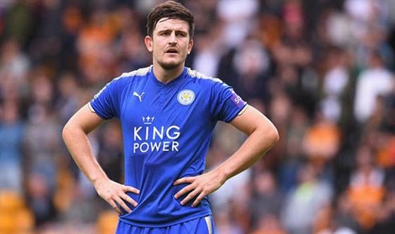 Harry Maguire đã thất vọng với Leicester và quyết tâm ra đi bằng mọi cách. Ảnh: Getty Images