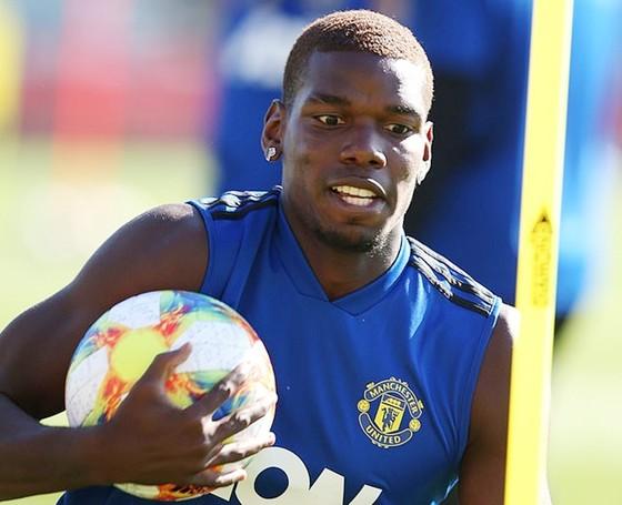 Paul Pogba đang tập luyện cùng Man.United tại Australia. Ảnh: Daily Mail