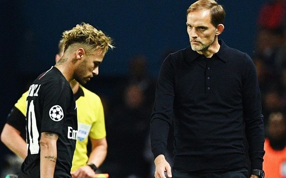 HLV Thomas Tuchel biết Neymar muốn ra đi từ lâu. Ảnh: Getty Images