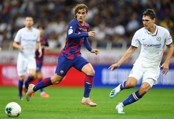 Antoine Griezmann có màn ra mắt không thành công cùng Barca. Ảnh: Getty Images