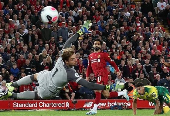 Mohamed Salah sớm tỏa sáng để giúp Liverpool làm nên khởi đầu tốt. Ảnh: Getty Images