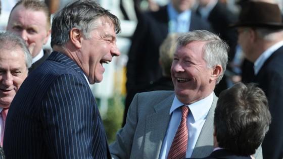 Sir Alex Ferguson có mối quan hệ tốt với Sam Allardyce.