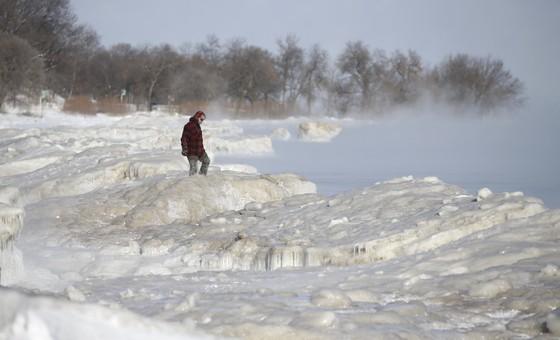 Mỹ lạnh hơn Nam cực, ít nhất 12 người chết ảnh 2