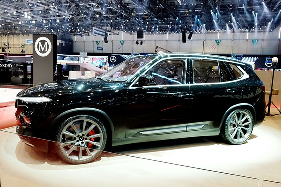 VinFast trình làng mẫu SUV Lux phiên bản đặc biệt tại Thụy Sĩ ảnh 2