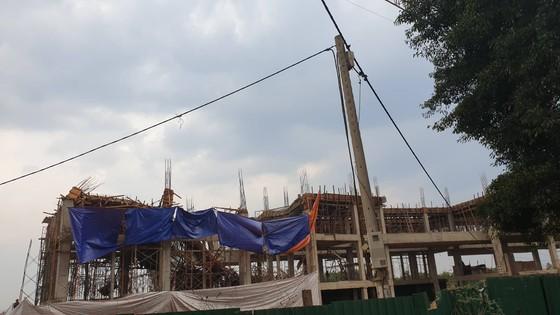 8 người bị thương do sập công trình Trung tâm dịch vụ việc làm tỉnh Đắk Lắk ảnh 1