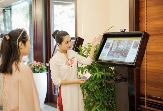 """Đua nhau """"check in"""" tại khách sạn áp dụng công nghệ nhân dạng đầu tiên tại Việt Nam ảnh 1"""