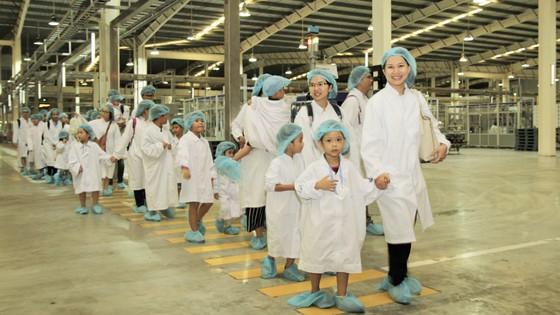 Vui hè 2018, bé khám phá siêu nhà máy sữa của Vinamilk ảnh 1