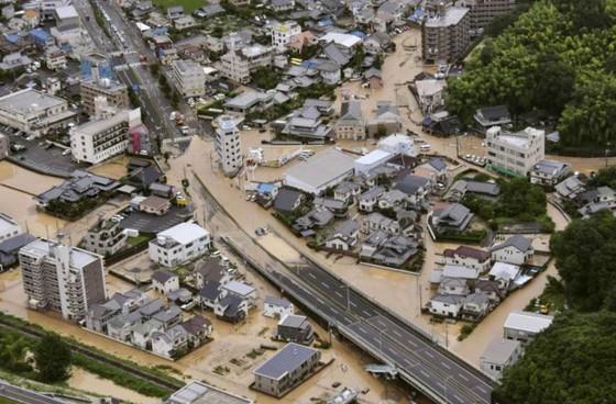Hơn 100 người chết và mất tích trong đợt mưa lớn kỷ lục tại Nhật ảnh 1