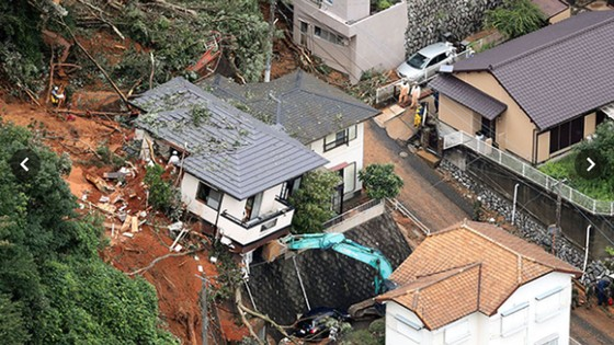 Hơn 100 người chết và mất tích trong đợt mưa lớn kỷ lục tại Nhật ảnh 22