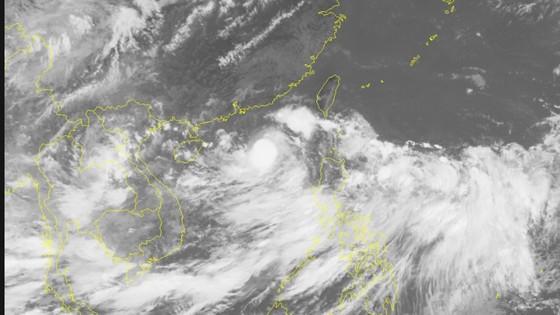 Áp thấp nhiệt đới đã mạnh lên thành bão ảnh 1
